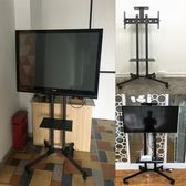 電視行動支架落地式推車324-65寸液晶電視機立式展示掛架通用加厚ATF  美好生活居家館