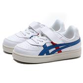 ASICS ONITSUKA TIGER GSM TS 白皮革 紅藍 休閒鞋 小童 (布魯克林) 1184A023100