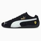 PUMA Ferrari Speedcat 男鞋 女鞋 賽車 經典 法拉利 麂皮 黑【運動世界】30679601