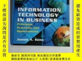 二手書博民逛書店Information罕見Technology in Busin