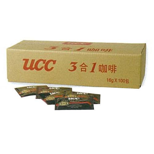 【UCC】精選三合一咖啡16gx100包
