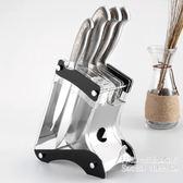 清晰透明亞克力不銹鋼廚房用品菜刀架      Sq6624『科炫3C』