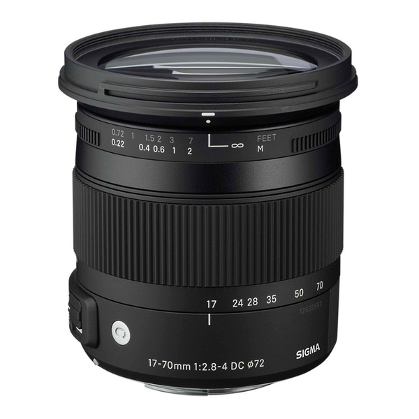 SIGMA 17-70mm F2.8-4 DC MACRO OS HSM [Contemporary] APS-C 專用鏡頭 【恆伸公司貨 三年保固】