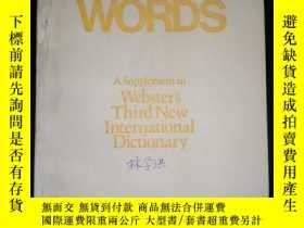 二手書博民逛書店6000罕見WORDS A Supplement to Webster's Third New Internati