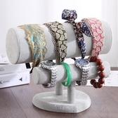 心型頭箍髮箍架飾品收納展示道具首飾架手鐲手鍊架 快速出貨