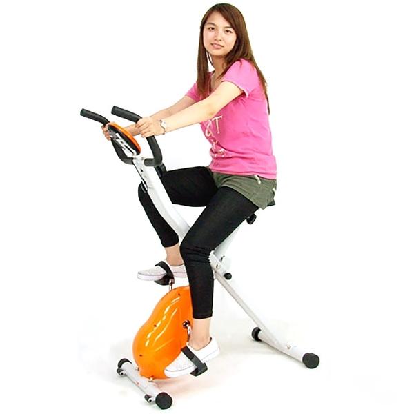 折疊X磁控健身車飛輪車BIKE室內收納摺疊腳踏車美腿機運動自行車另售電動跑步機踏步機推薦
