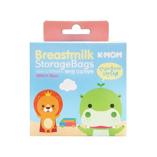 韓國MOTHER-K K-MOM站立式抗菌母乳袋(20入)