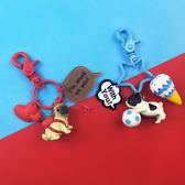 小狗鑰匙圈男女款創意狗狗包掛飾可愛汽車情侶鑰匙鍊一對書包掛件   初見居家