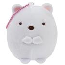 【角落生物 紓壓娃娃吊飾】角落生物 紓壓 捏捏 娃娃吊飾 北極熊 日本正版 該該貝比日本精品