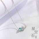 【新飾界】項鍊:女925純銀夢幻星球項鍊...