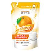 橘子工坊 深層淨味碗盤洗滌液補充包500ml【愛買】