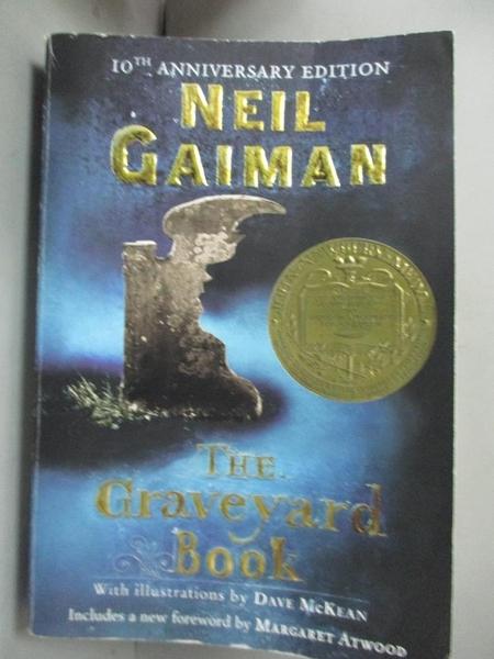 【書寶二手書T4/原文小說_GKN】The Graveyard Book_Gaiman, Neil/ McKean, Dave (ILT)