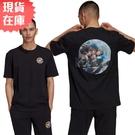 【現貨】Adidas ARTIST TEE SS 男裝 短袖 T恤 休閒 電子遊戲印花 棉質 黑【運動世界】HA4703