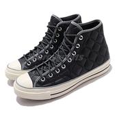 Converse 休閒鞋 Chuck 70 黑 米白 高筒 1970 男女鞋 特殊鞋面紋路 三星黑標 【ACS】 169376C