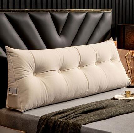 北歐床頭靠墊靠枕軟包三角沙發大靠背護腰枕榻榻米床上靠背可拆洗 【米娜小鋪】