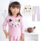 女童居家服 / 喵喵兩件式套裝 -日本Milkiss