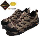 Merrell 戶外鞋 Moab 2 GTX 黑 綠 Gore-Tex 防水 透氣 越野 休閒鞋 運動鞋 男鞋【PUMP306】 ML06035