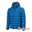 [Wildland] 荒野 (男) 收納枕拆帽極暖鵝絨外套 中藍 (0A72102-77)