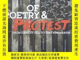 二手書博民逛書店美國黑人抗議詩歌選集《Of罕見Poetry & Protest:from Emmett Till to Trayv