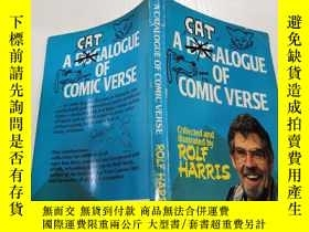 二手書博民逛書店A罕見catalogue of comic verse:喜劇詩集Y200392