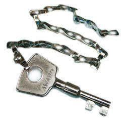 AMANO PR-600 巡邏鐘專用  鑰匙 (1-60號)