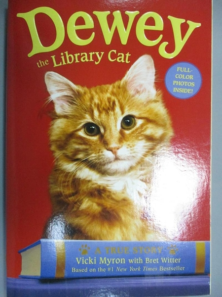 【書寶二手書T1/原文小說_OSI】Dowey the Library Cat A Ture Story_Vicki Myron