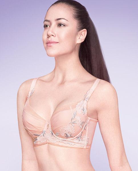 美背4/4薄模杯胸罩-ami003243
