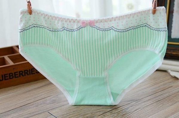 蕾絲 內褲 薄荷綠 1件
