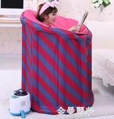 科侶汗蒸箱家用汗蒸房蒸汽桑拿浴箱月子發汗熏蒸機家庭單人摺疊 金曼麗莎