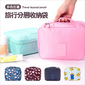 ✭米菈生活館✭【B28】韓版旅行分層收納袋 行李箱 打包 整理 行李袋 登機 可折疊旅行包 衣物