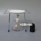 實驗用酒精燈組 (酒精燈100ml+ 三腳架 +陶瓷網15cm*15cm)
