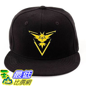 [美國直購] 神奇寶貝 精靈寶可夢周邊 Pokemon B01KAV56IY Go - Team Instinct Valor Mystic Premium Baseball Cap Hats
