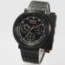 [萬年鐘錶]  SEIKO SPIRIT  X GIUGIARO 限量科幻計時碼錶 黑 42mm 7T12-0BR0SD (SCED043J)