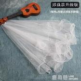 頭紗女新娘韓式簡約結婚婚紗頭紗頭飾超仙森系短款新款旅拍頭紗白『快速出貨』