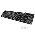 Qstyle刻字透光發光鍵盤 KB-380