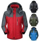 保暖加絨機能衝鋒外套  防潑水防寒《p0061》