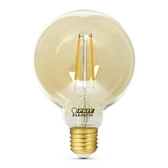 Feit LED G30復古仿鎢絲燈泡 4入