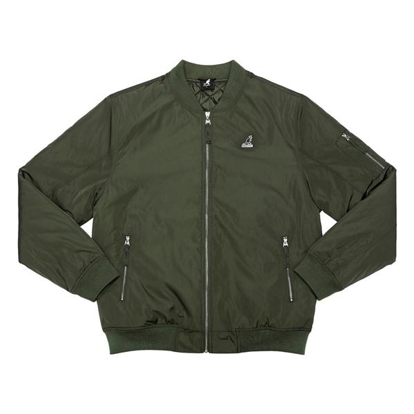 KANGOL 飛行外套 夾克 墨綠色 小袋鼠LOGO 6055146070 noF08