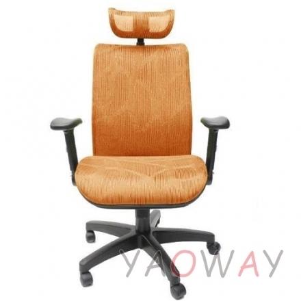 【耀偉】PG308cc-橘(人體工學椅/辦公椅/電腦椅/網椅)