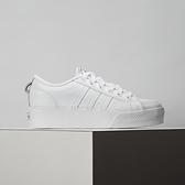 Adidas Nizza Platform 女鞋 白 經典 厚底 運動 休閒鞋 FW0265