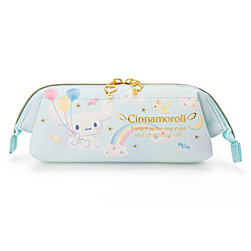 Sanrio 大耳狗大開口PU皮革筆袋(雲彩樂園)★funbox★_982652N