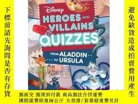 二手書博民逛書店Disney罕見Heroes and Villains Quiz