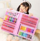 兒童畫畫筆水彩筆套裝寶寶幼兒園彩色筆蠟筆小學生繪畫無毒可水洗 初語生活