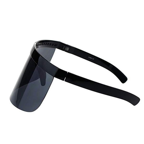 VISOR超大框抗UV防曬太陽眼鏡(買1送1)