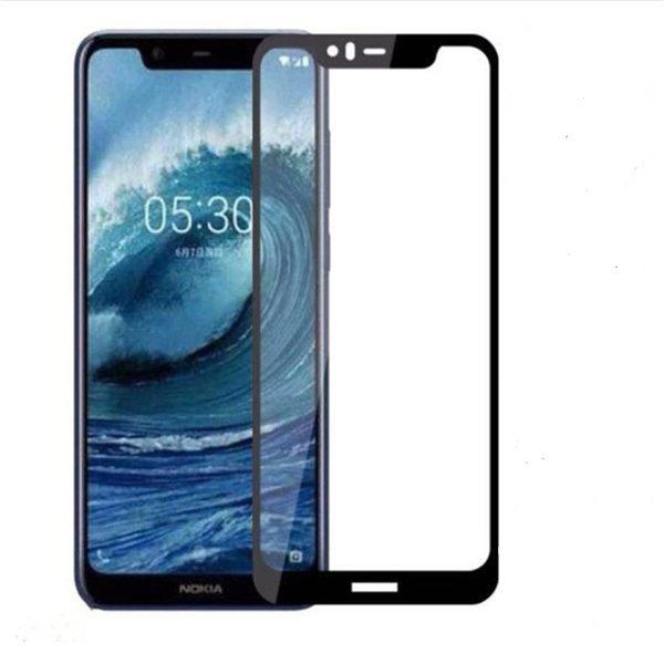 諾基亞 Nokia 5.1 PLUS 保護膜 超薄 9H 防爆 全屏覆蓋  鋼化玻璃膜 螢幕 透明 鋼化膜 玻璃貼