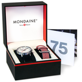 MONDAINE 瑞士國鐵 SBB Classic 75週年紀念錶–30mm/65875SET