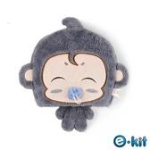 逸奇e-Kit 冬天保暖用品/可愛小猴子/護腕滑鼠墊/USB保暖滑鼠墊 UW-MS30-GR 灰色款