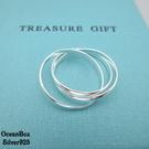 §海洋盒子§質感三環設計925純銀戒指...