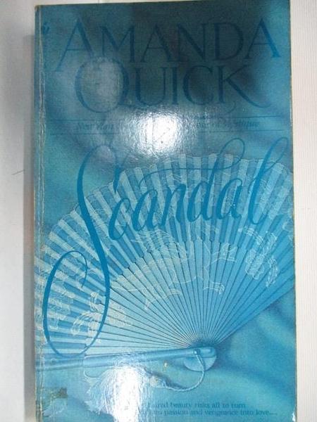 【書寶二手書T8/原文小說_BL5】Scandal_Amanda Quick