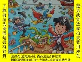二手書博民逛書店Seek罕見and Find Pirate 1001找找看英文單